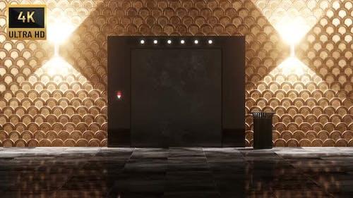 4K - Luxury Elevator Transition