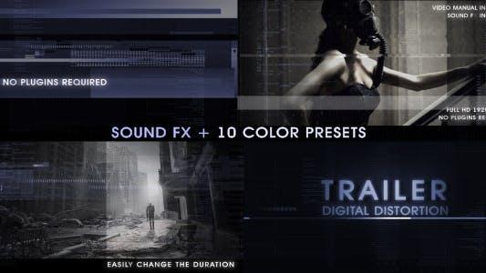 Thumbnail for Trailer Digital Distortion