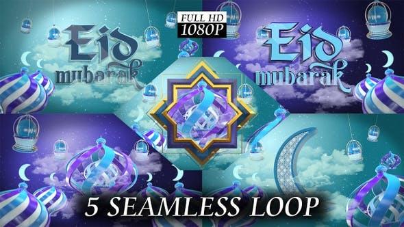 Thumbnail for Eid Mubarak + Islamic Background