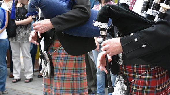 Thumbnail for Traditional Scottish Bagpipes Singing