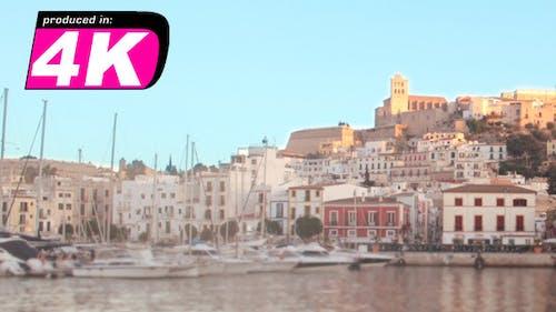 Ibiza Port, 4K Time Lapse