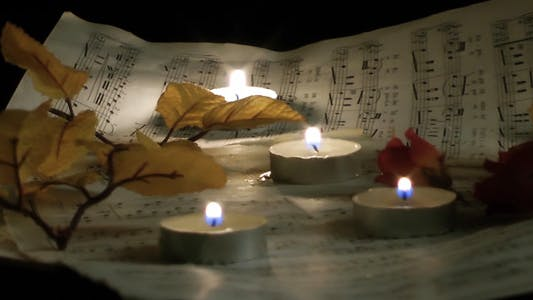 Thumbnail for Candles, Flowers And Music Sheets