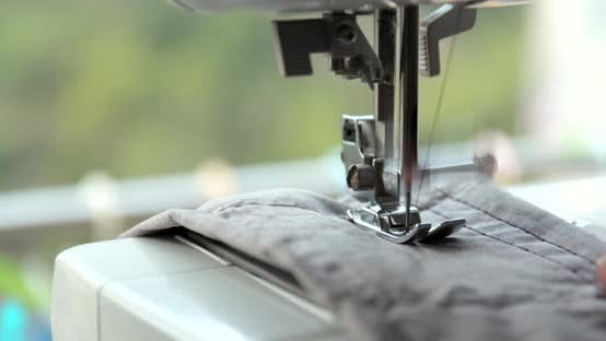 Thumbnail for Sewing Machine Close up
