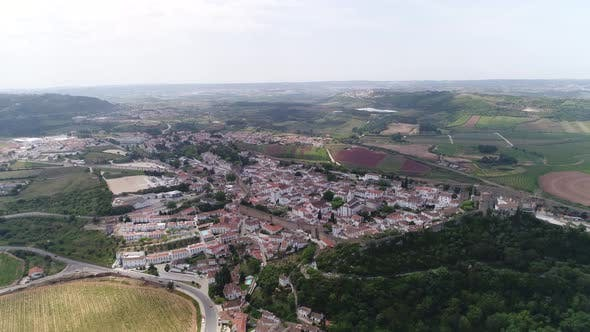 Thumbnail for Aerial View of Residential District in Portugal