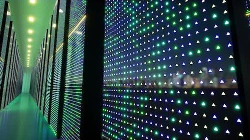 Data Cente Blue Information Technology Internet Technology.