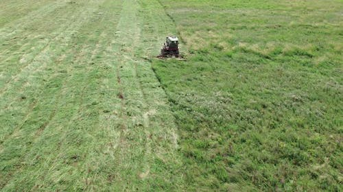 Forage Harvester for Cutting Succulent Grass
