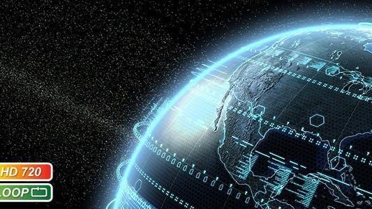 Thumbnail for Digital Earth Globe