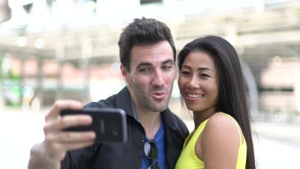 Thumbnail for Couple Taking Selfie