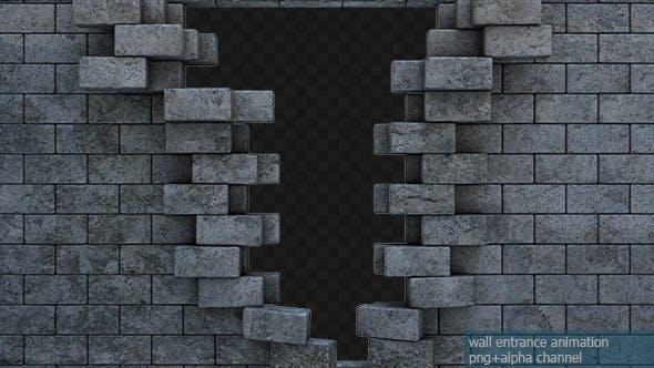 Wall Entrance Animation