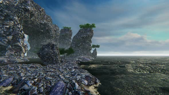 Thumbnail for Natural Landscape And Sea 2 K Sunny
