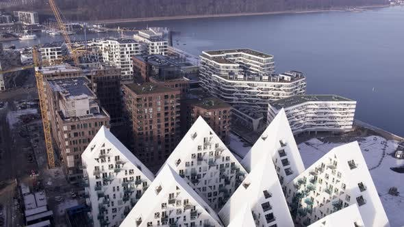 Thumbnail for Isbjerget and the Red Brick Apartment Buildings in Aarhus