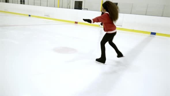 Thumbnail for Kid Practicing Figure Skating