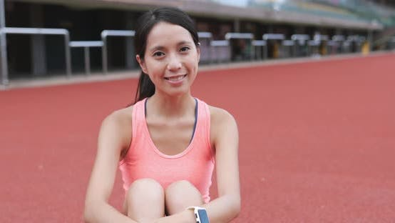 Thumbnail for Sport woman at outdoor park