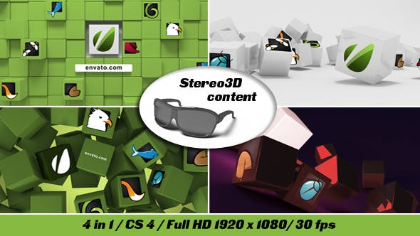 Thumbnail for Cubes Stereo 3D