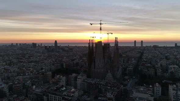 Thumbnail for La Sagrada Familia on Sunrise
