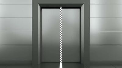 Elevator Opener Doors Transition