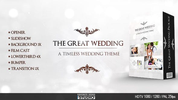 The Great Wedding Pack