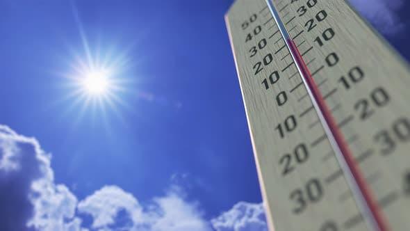 Thumbnail for Temperature Drops To -5 Minus Five Degrees Centigrade
