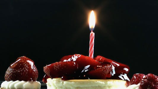 Thumbnail for Fruit Cake and Birthday Candle