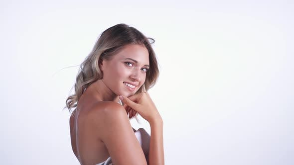Thumbnail for Attractive Woman Smiling