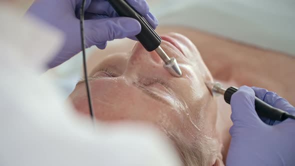 Thumbnail for Woman Getting Anti-Aging Treatment in Salon