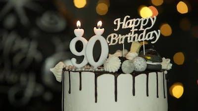 Ninety Birthday Cake
