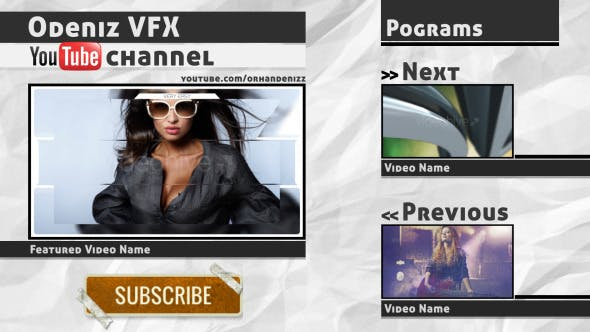 Youtube Channel ID Pack