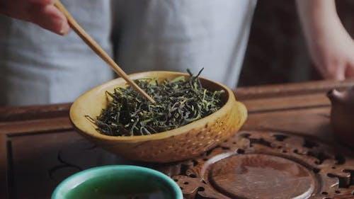Porcelain Tea Tray