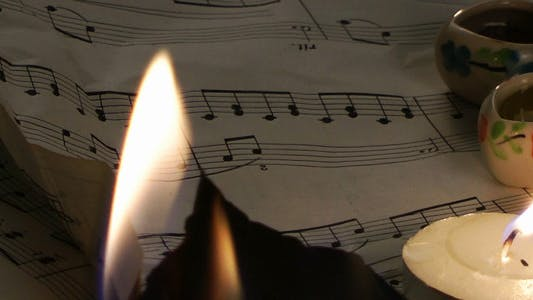 Thumbnail for Music Papers Burning