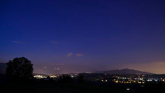 Thumbnail for Night Sky Stars Time Lapse