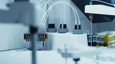 High Tech Machine in Contemporary Laboratory