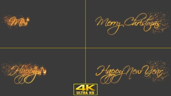 Thumbnail for Merry Christmas And Happy New Year Texts