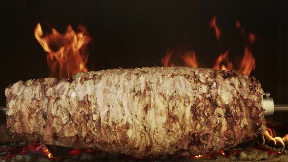 Cover Image for Doner Meat Close-Up