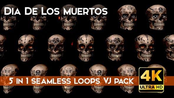 Dia De Los Muertos Vj Pack 1