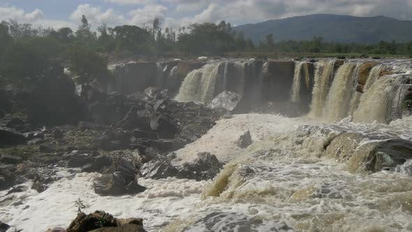 Thumbnail for Panoramic view of  the top of the Fourteen Falls