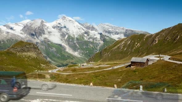 Thumbnail for Timelapse of Grossglockner pass in Austria