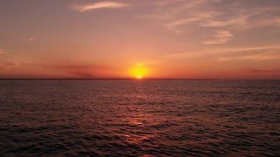 Dawn In The Ocean