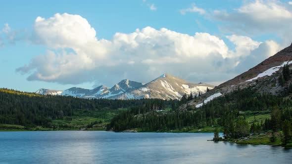 Mountain Lake Landscape Time Lapse