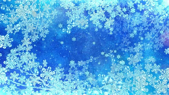 Frost Snow Flakes