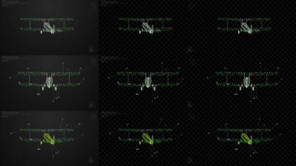 Airplane Hologram HUD