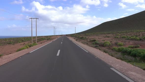 Thumbnail for View on Road Along Atlantic Coast, Morocco