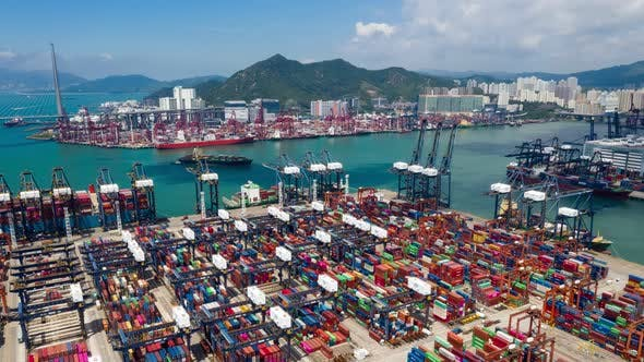 Thumbnail for Kwai Tsing container terminal
