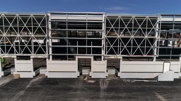 Thumbnail for Facade of New Building Construction