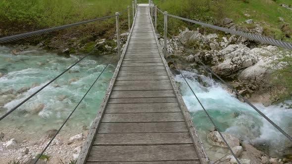 Thumbnail for View of Bridge Over Soca River Slovenia
