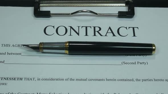 Thumbnail for Business Contract And Money