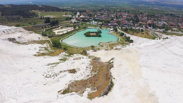 Thumbnail for Aerial View of Park at Mount Pamukkale