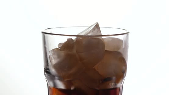 Cover Image for Pouring iced soft drink
