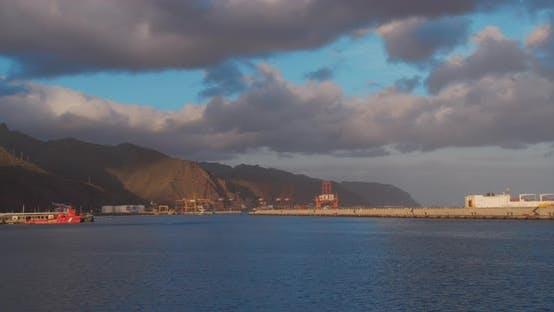 Thumbnail for Timelapse of the Santa Cruz De Tenerife Harbor, Spain