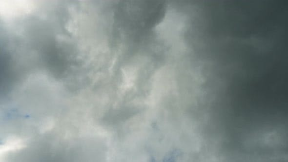 Thumbnail for Cloudy Evening Sky Time Lapse