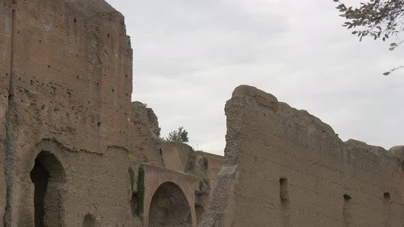 Old ruined walls